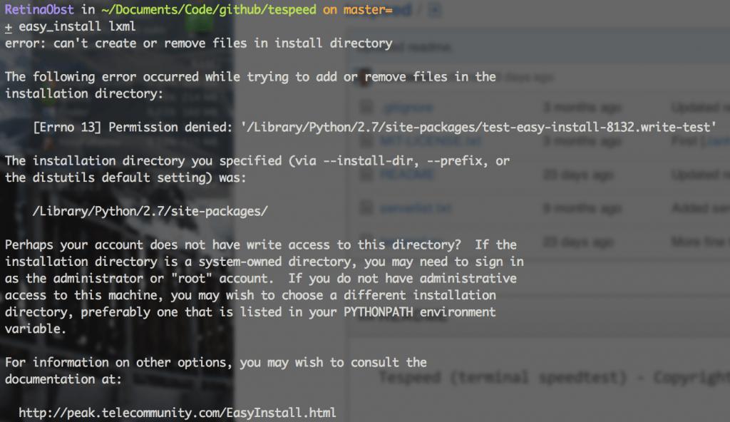 easy_install lxml