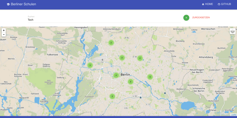 Berliner Schulen: Screenshot
