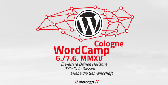 WordCamp Köln 2015 Logo
