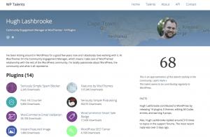 WP Talents: Profil von Hugh Lashbrooke