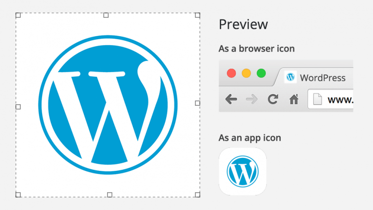 WordPress 4.3: Favicon