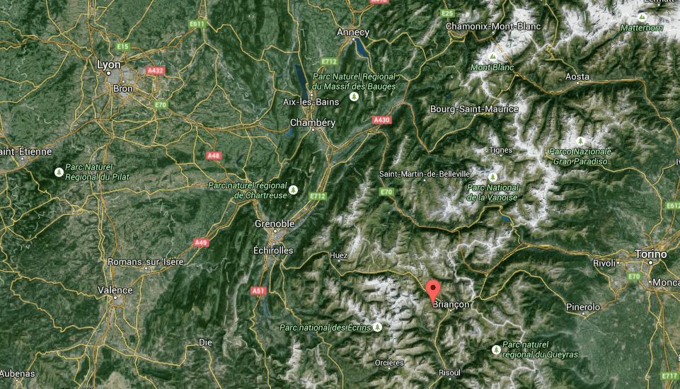 Karte wo SkiPress stattfindet
