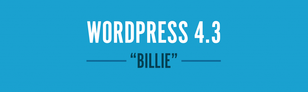 WordPress 4.3: Artikel Banner
