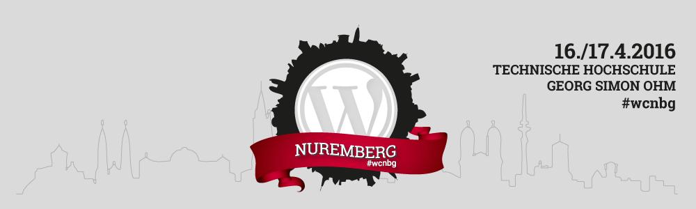 WordCamp Nuremberg 2016 Banner