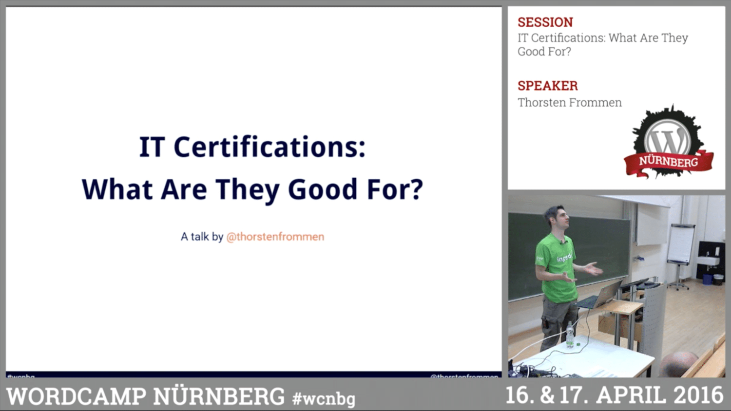 Thorsten Frommen It Certifications What Are They Good For Webschale